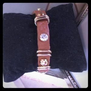 Jewelry - Leather strap bracelet